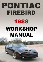 Pontiac Firebird 1988 Workshop Repair Manual