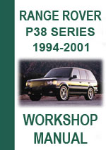 Range Rover P38 1994-2001 Workshop Repair Manual