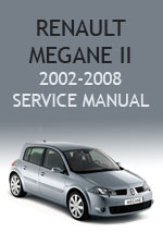 Renault Megane 2 Workchop Repair Manual