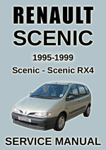 Renault Scenic + Scenic RX4 Workchop Repair Manual