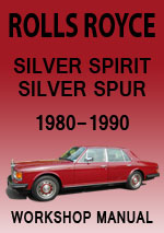 Rolls Royce Silver Spirit Workshop Repair Manual
