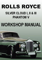 Rolls Royce Silver Cloud 1,2,3, Workshop Manual