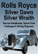 Rolls Royce Silver Dawn & Silver Wraith Workshop Repair Manual