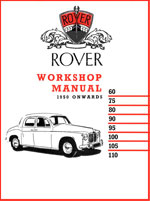 Rover P4 1949-1964 60, 75, 80, 90, 95, 100, 105, 110, Workshop Service Repair Manual Download PDF