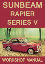 Sunbeam Rapier Series 5 1965-1967 Workshop Repair Manual