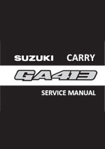 Suzuki Carry GA413 plus 4WD 1999-2004 Workshop Repair Manual