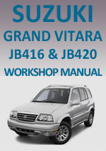 Suzuki Grand Vitara JB 416-420, 2005-2008 Service Manual