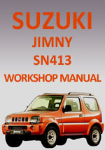 Suzuki Jimny SN413 1998-2010 Workshop Repair Manual