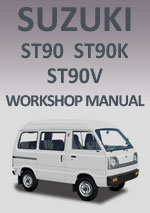 Suzuki ST90, ST90K and ST90V 1979-1985 Workshop Repair Manual