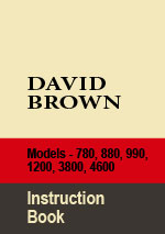 David Brown Tractor Series 780, 880, 990, 1200, 3800,  4600 Workshop Repair Manual
