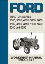 Ford Tractor Series 2000-7000 1965-1975 Workshop Repair Manual