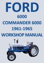 Ford 6000 Series Tactor Workshop Repair Manual