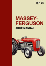 Massey Ferguson MF35 Tractor Workshop Repair Manual