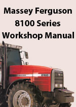 Massey Ferguson 8110, 8120, 8130, 8140, 8150, 8160, Tractor Workshop Service Repair Manual download pdf