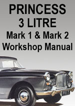 Princes 3 Litre Mark 1 and 2 Workshop repair Manual
