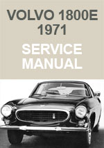 Volvo 1800E Workshop Repair Manual