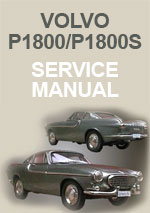 Volvo P1800 and P1800 S Workshop Repair Manual