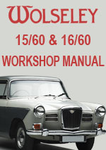 Wolseley 15/60 and 16/60 Workshop Repair Manual