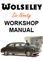 Wolseley Six Ninety Workshop Repair Manual